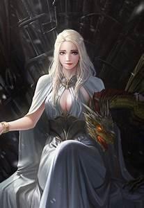 Fan Arts of Daenerys - Daenerys Targaryen by TaeKwon Kim(A ...