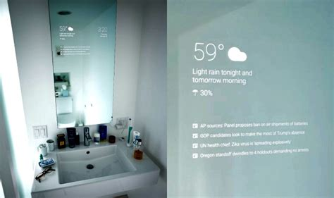 googles android smart mirror  replace  boring