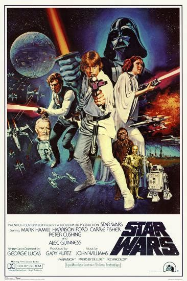 'Star Wars - Episode IV New Hope - Classic Movie Poster ...