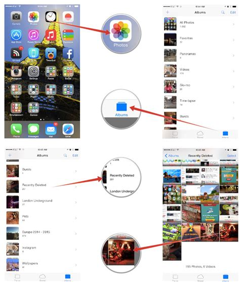 how to get back deleted photos on iphone ios help i accidentally deleted a photo my iphone