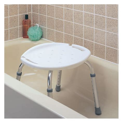 Carex Adjustable Bath And Shower Seat  Shower Chairs