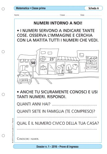 Prove D Ingresso Prima Media Matematica Prove D Ingresso Matematica Classe 1 La Vita Scolastica