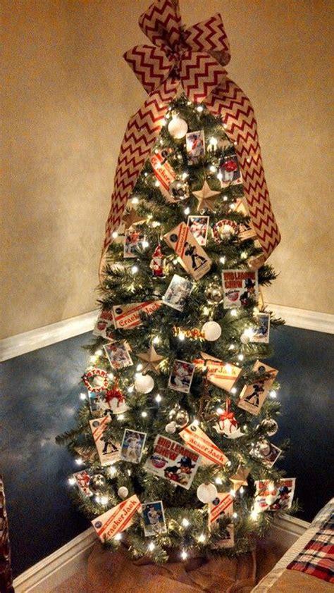 cool baseball christmas tree   boys