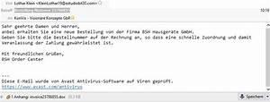Avast Rechnung : ecommerce kmu blog ber seo magento und internetseiten achtung eklige spam mail gefakte ~ Themetempest.com Abrechnung