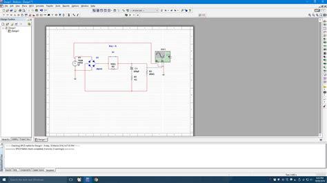 full wave bridge rectifier circuit  multisim