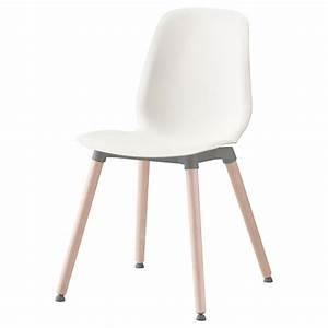 Ikea Chaise Blanche : leifarne chair white ernfrid birch ikea ~ Teatrodelosmanantiales.com Idées de Décoration