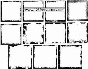 016-Grunge Photo Frames Vector | Download Free Vector Art ...