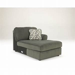 Ashley jessa place 3 piece microfiber right chaise for 3 piece microfiber sectional sofa with chaise