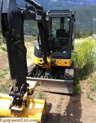 john deere  excavator  sale classifieds equipment list