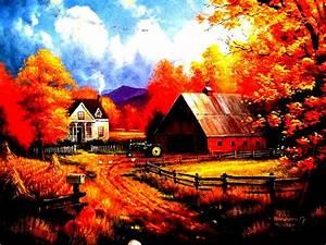 Autumn, Fall, Landscape, Nature, Tree, Forest, Leaf