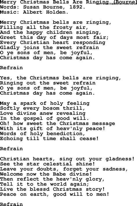 bells will be ringing christmas song themagicalmusicals