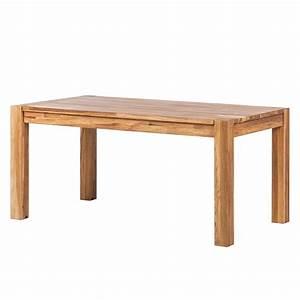 Spannbettlaken 90 X 160 : esstisch richwood mit ausziehfunktion eiche massiv 160 x 90 cm ebay ~ Markanthonyermac.com Haus und Dekorationen