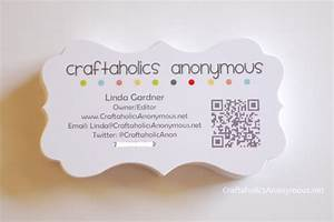 Blogger business cards for Craft business cards ideas