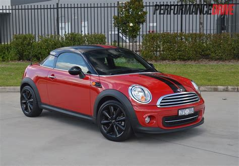 Mini Coupe by 2013 Mini Coupe Cooper Review Performancedrive