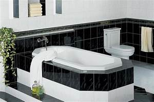 Black And White Bathroom Decorating Ideas Home