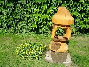 Schnitzerei Mit Der Kettensge Vogelhaus