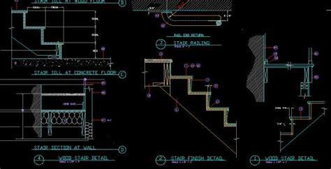stair details cad drawings cadblocksfree cad blocks free