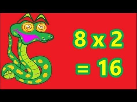 apprendre la table de multiplication par 8 en cp ce1 ce2 facilement et en s amusant