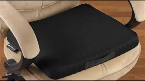 desk chair seat cushion best seat cushion for office chair review youtube