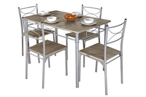 table cuisine 4 chaises table 4 chaises tuti chene