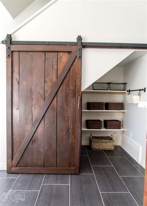 stairs kitchen storage how to build an stairs pantry with a diy sliding 6569
