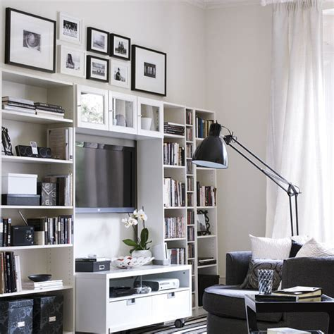 tv wall units with storage living room storage ideas ideal home