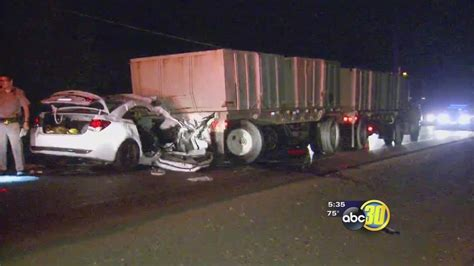 Merced County Semi Truck Collision Ends In Fatality On