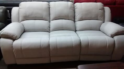 Display Full Grain Leather Sofa Set Clearance!!! North