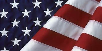 Flag American Military Flags Background Folded Cloth