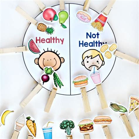 food and nutrition activity pack prek 301 | 64de286348c3e2cde87b34135bbab0db