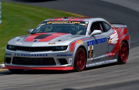 Stevenson Camaro Leads Ctsc Practice At Watkins Glen