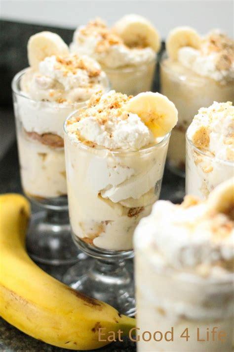 dessert recipes with bananas banana pudding