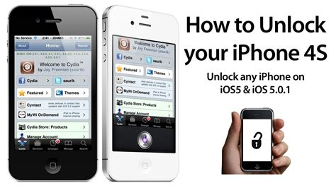 how to unlock iphone 5 for free how to unlock your iphone 4s 4 3gs on ios 5 5 0 1 w sam