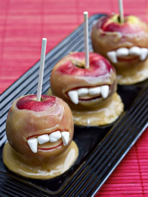 vampire caramel apples fun family crafts