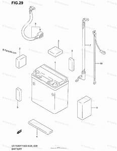 Suzuki Atv 2001 Oem Parts Diagram For Battery