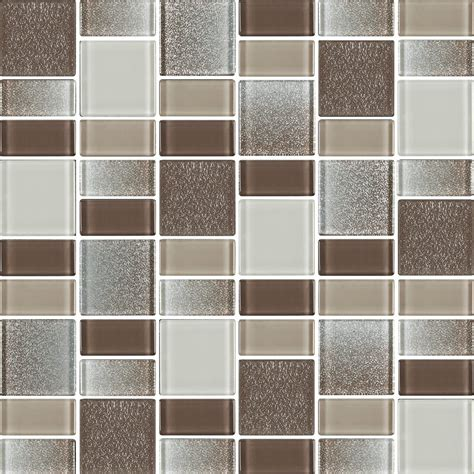 fusion brown glass mosaic tiles rocky point tile