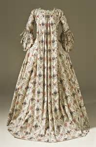 patron robe de mariã e file robe à la française block printed cotton c 1770 jpg wikimedia commons