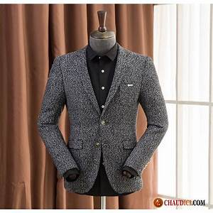 Veste En Laine Homme : blazer homme sport chic une veste manteau de laine blazer slim ~ Carolinahurricanesstore.com Idées de Décoration