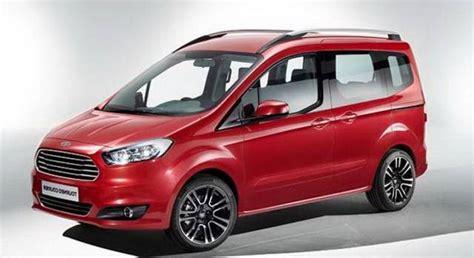 ford tourneo courier 2018 2018 ford tourneo courier facelift specs release date price