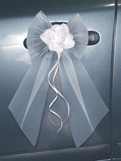 ruban pour deco voiture mariage toute la d 233 coration de voiture de mariage la f 233 e d 233 coration voiture mariage et