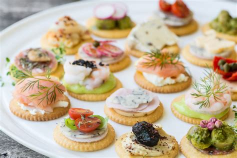 simple canapes easy ritz cracker canapés the view from great island