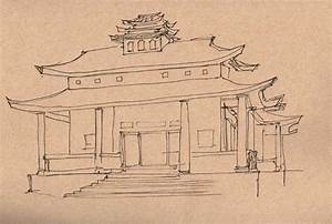 The gallery for --> Thai Buddhist Temple Drawing