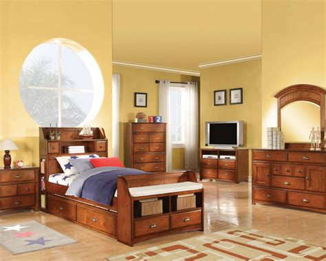 antique oak bedroom set brandon  acme acset
