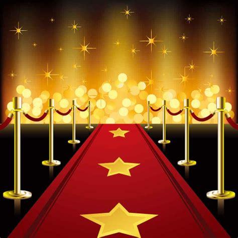red carpet backdrops gold glitter backdrop steps