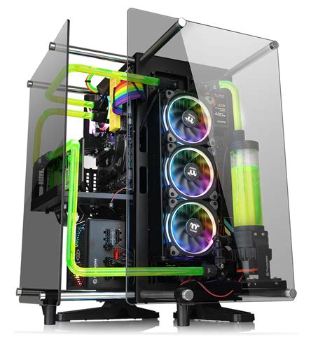 thermaltake tg 2 thermaltake announces p90 tempered glass edition chassis