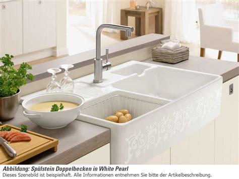 aufsatzwaschbecken villeroy und boch villeroy boch sp 252 lstein doppelbecken white pearl 6323 91 kt keramiksp 252 le