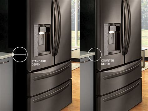 LG Counter Depth Refrigerators: Built In Look for Your