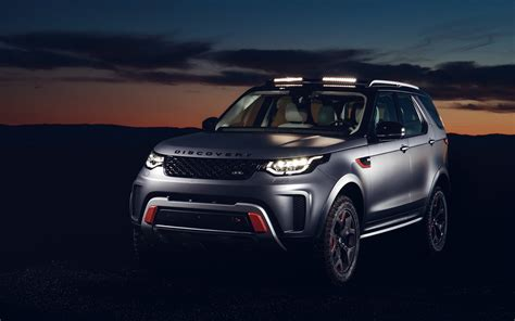Land Rover Discovery Wallpapers by 2018 Land Rover Discovery Svx 4k Wallpapers Hd