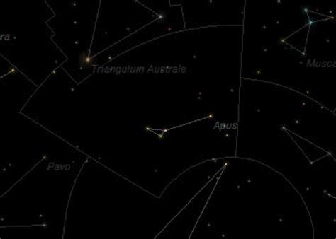 constellation apus frosty drew observatory sky theatre