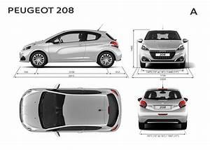 Dimensions 308 Peugeot : peugeot 208 dimensions ext rieures et int rieures forum ~ Medecine-chirurgie-esthetiques.com Avis de Voitures